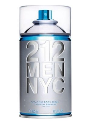 212 Men NYC Body Spray Carolina Herrera