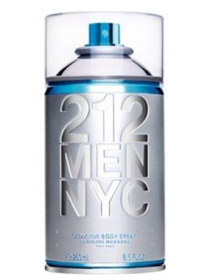 212 Men NYC Body Spray Carolina Herrera