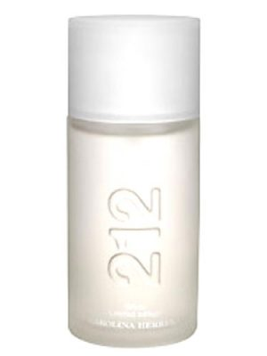 212 Men White Carolina Herrera