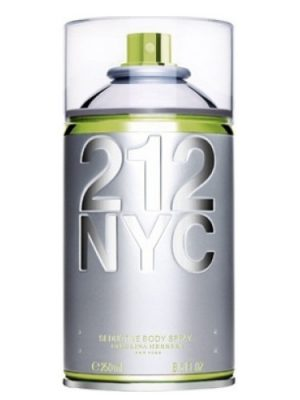 212 NYC Body Spray Carolina Herrera