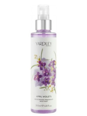 April Violets Fragrance Mist Yardley