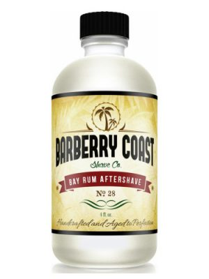 Bay Rum Aftershave No. 28 Barberry Coast Shave Co.