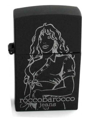 Black Jeans Femme Roccobarocco