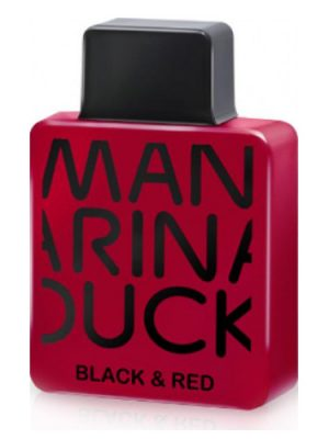 Black & Red Mandarina Duck