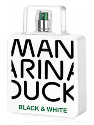 Black & White Mandarina Duck