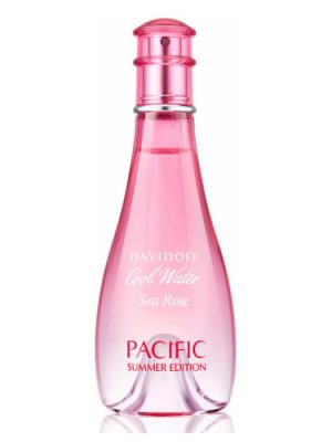Cool Water Woman Sea Rose Pacific Summer Edition Davidoff