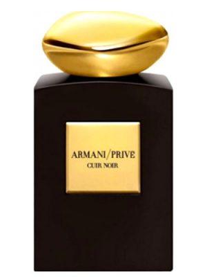 Cuir Noir Giorgio Armani