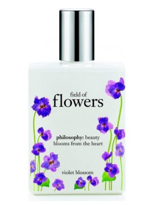 Field of Flowers Violet Blossom Philosophy