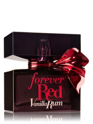 Forever Red Vanilla Rum Bath and Body Works