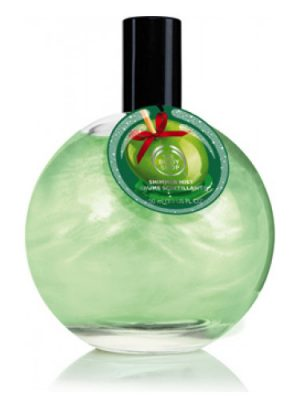 Glazed Apple Shimmer Mist The Body Shop