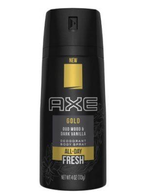 Gold (Oud Wood and Dark Vanilla) Axe