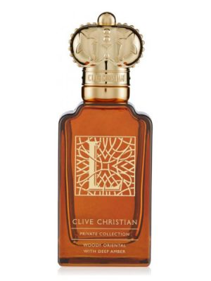 L for Men Woody Oriental With Deep Amber Clive Christian