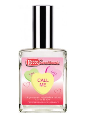 Necco Sweethearts Call Me Demeter Fragrance
