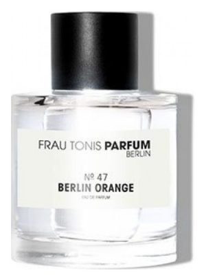 No. 47 Berlin Orange  Frau Tonis Parfum