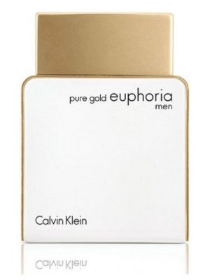 Pure Gold Euphoria Men Calvin Klein
