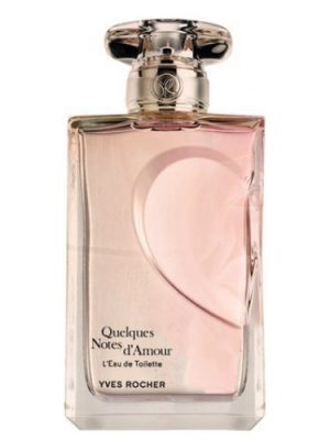 Quelques Notes d'Amour L'Eau de Toilette Yves Rocher