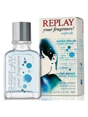 Replay Your Fragrance! Refresh for Him Replay