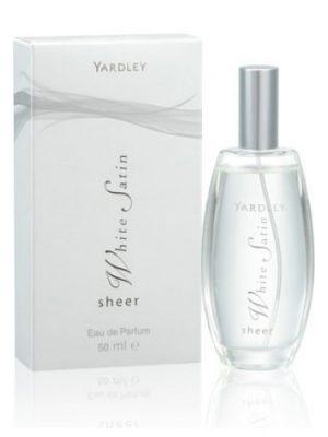 Sheer White Satin Yardley