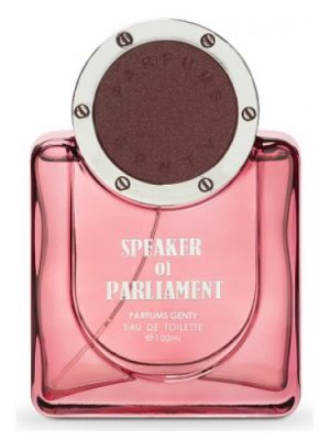 Speaker of Parliament Parfums Genty