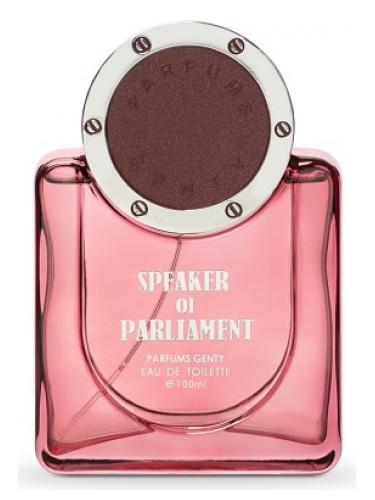 Speaker of Parliament Parfums Genty