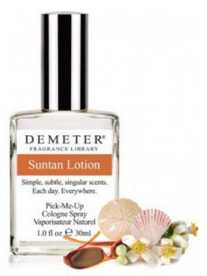 Suntan Lotion Demeter Fragrance