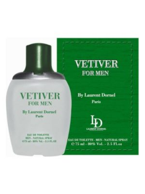 Vetiver For Men Laurent Dornel