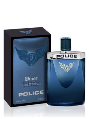 Wings Blue Police