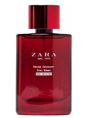 Zara est 1975 Denim Couture Pour Homme Red Edition Zara